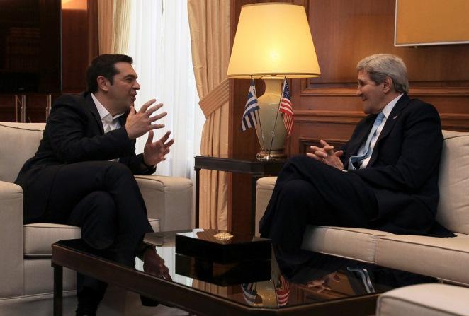 Τσίπρας σε Κέρι: Η Ελλάδα είναι κόμβος σταθερότητας στην περιοχή