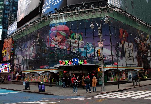 «Λουκέτο» στο θρυλικό κατάστημα Toys R Us των ΗΠΑ