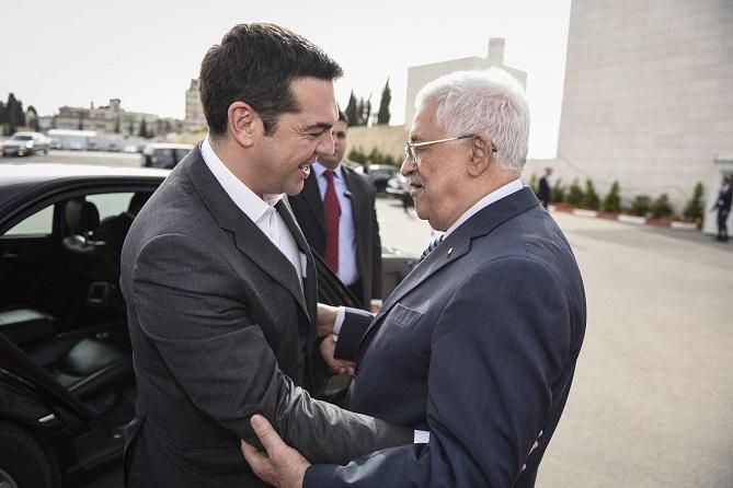 Στην Αθήνα ο Μαχμούντ Αμπάς