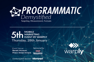 5th Mobile Marketng Event by Warply