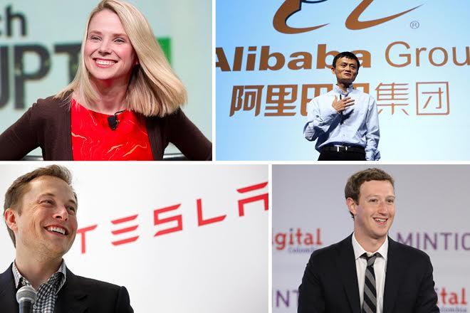 Οι CEO που έβαλαν τη σφραγίδα τους στο 2015