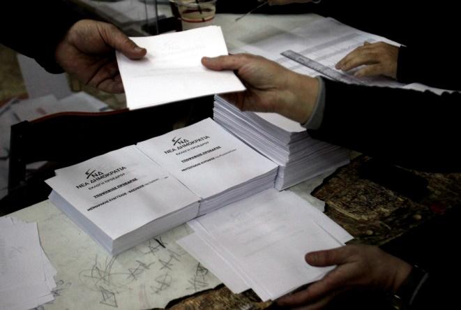 Εκλογές ΝΔ: Έκλεισαν οι κάλπες, άρχισε η καταμέτρηση (upd)