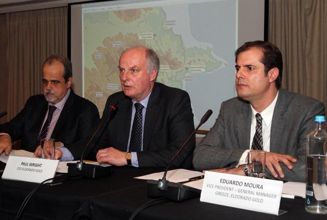 Το ΣτΕ ακύρωσε την απόφαση Σκουρλέτη για αναστολή λειτουργίας των μεταλλείων της Χαλκιδικής
