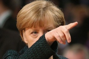 COLOGNE, GERMANY - DECEMBER 09:  German Chancellor and Chairwoman of the German Christian Democrats (CDU) Angela Merkel arrives to open the annual CDU party congress on December 9, 2014 in Cologne, Germany. The CDU is the senior partner in Germany's ruling government coalition.  (Photo by Sean Gallup/Getty Images)