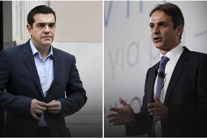 MRB: Με 29,1% προηγείται η ΝΔ έναντι 16,2% του ΣΥΡΙΖΑ παρά τις εξαγγελίες Τσίπρα