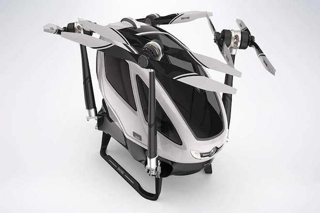 Έτοιμο το πρώτο «επιβατικό» drone στον κόσμο