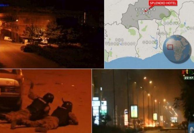 Μακελειό στη Μπουρκίνα Φάσο: Επίθεση τζιχαντιστών σε ξενοδοχείο