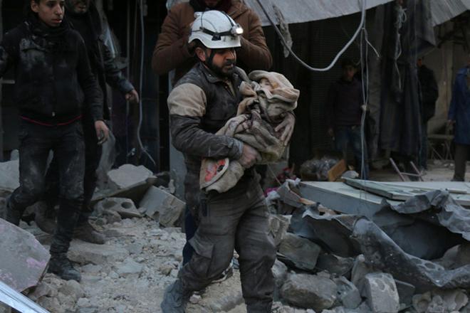 Στους 72 οι νεκροί στη Συρία από επίθεση με χημικά