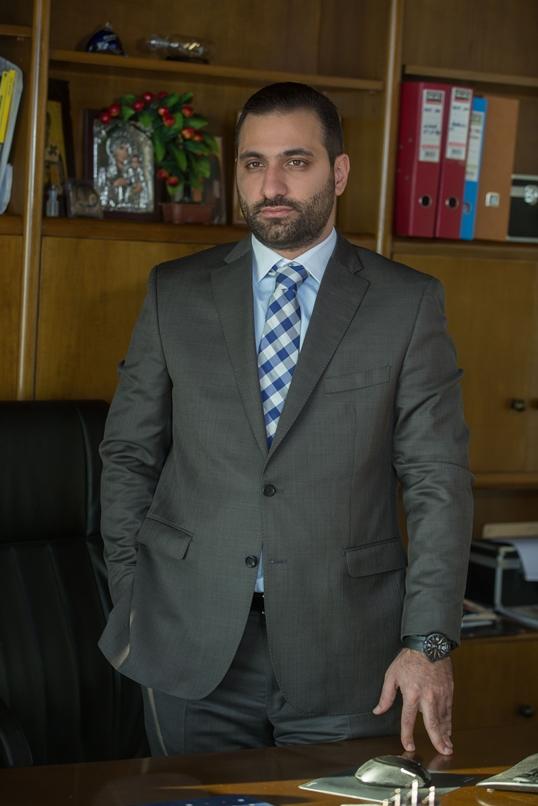 O Βασίλης Τοτόλης, CEO της Rist Hellas.