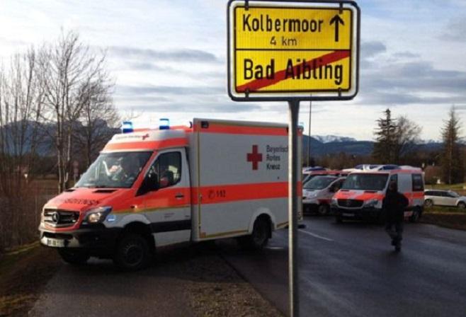 Γερμανία: Σύγκρουση τρένων με νεκρούς και τραυματίες στη Βαυαρία