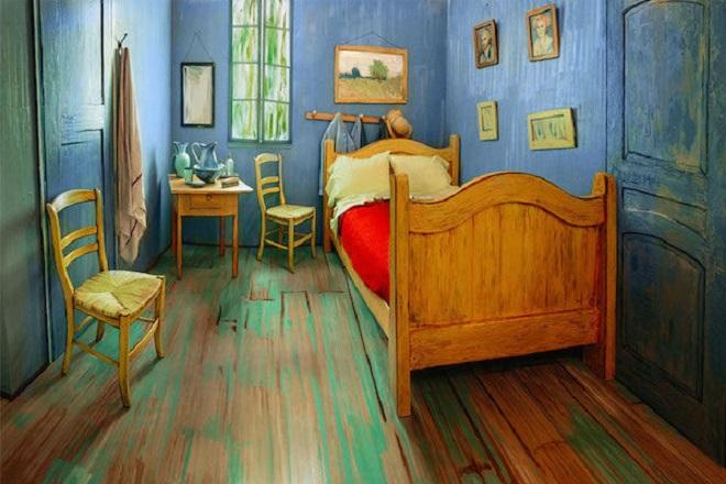 H Airbnb νοικιάζει τη κρεβατοκάμαρα του Βαν Γκογκ