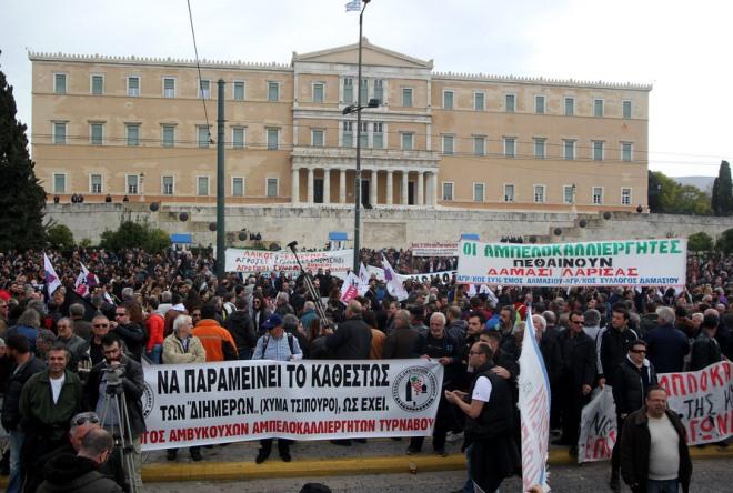 Στην πλατεία Συντάγματος οι αγρότες-Νέο συλλαλητήριο σήμερα