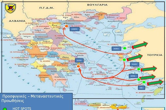 Ο Καμμένος έδωσε χάρτη για τα hot spots με σβησμένα τα Σκόπια!