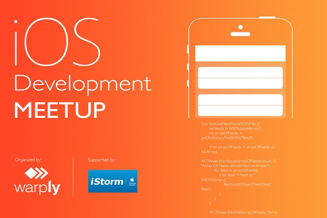 Σειρά από Meetup events για iOS Developers  από τη Warply