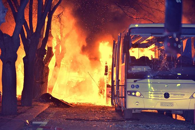 Φονική έκρηξη στην Άγκυρα με δεκάδες νεκρούς