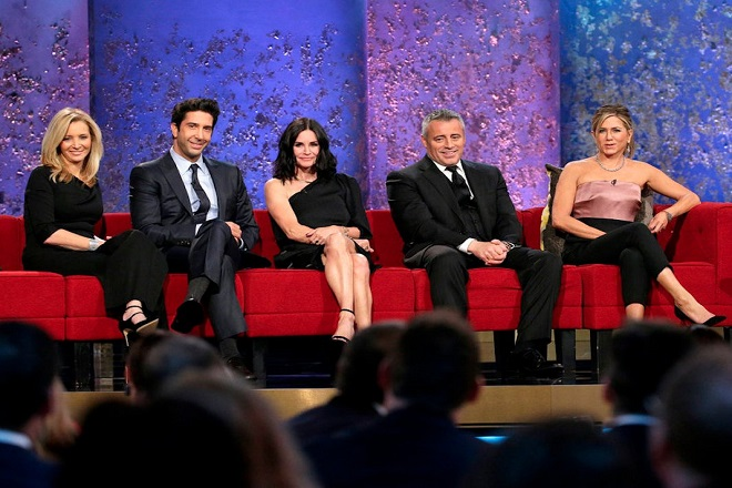 Τα «Φιλαράκια» ενώθηκαν για δυο ώρες στο κανάλι του NBC