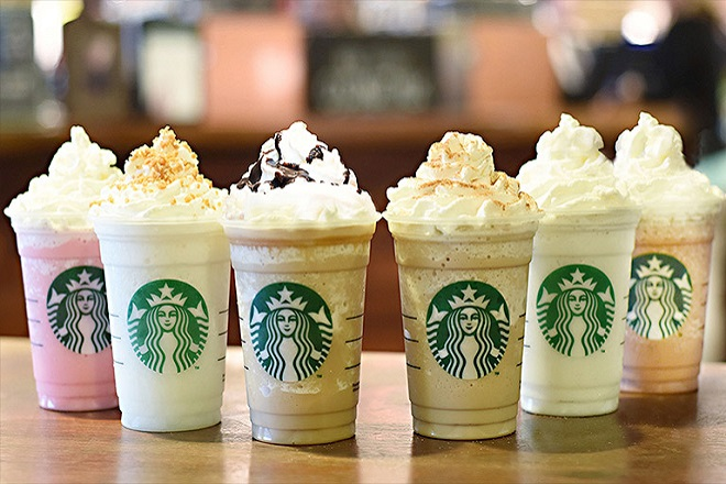 Δε θα πιστεύετε πόση ζάχαρη έχει ένα ρόφημα των Starbucks