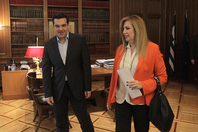 Έτοιμη να στηρίξει κυβέρνηση με Τσίπρα και Μητσοτάκη δηλώνει η Φώφη Γεννηματά