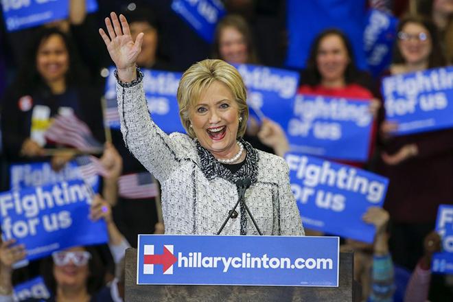 Σάρωσε η Χίλαρι Κλίντον στη Νότια Καρολίνα