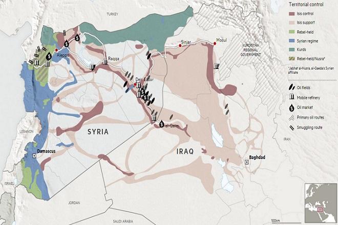 Αυτό είναι το ταξίδι ενός λαθραίου βαρελιού πετρελαίου στη Συρία