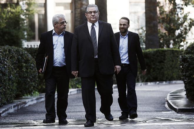 Το υπόμνημα εννέα σημείων που κατέθεσε το ΚΚΕ στη σύσκεψη των πολιτικών αρχηγών