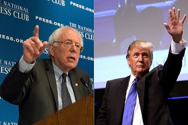 Γιατί ο Ντόναλντ Τραμπ κερδίζει ενώ ο Μπέρνι Σάντερς όχι