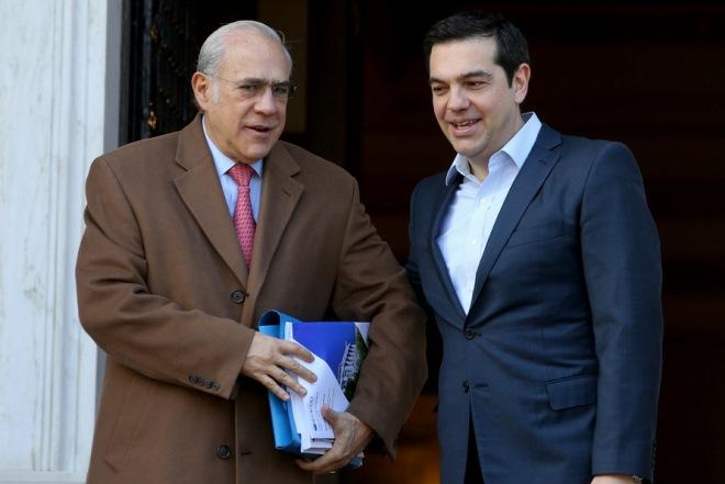 Τσίπρας και Γκουρία: Συμφωνούν για ανάγκη διευθέτησης του χρέους
