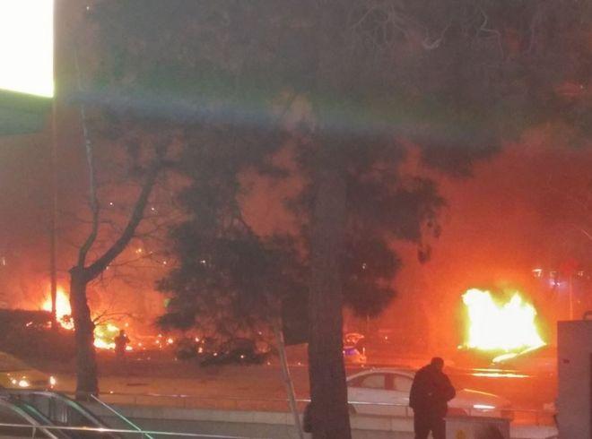 Τουρκία: Φονική έκρηξη στην Άγκυρα