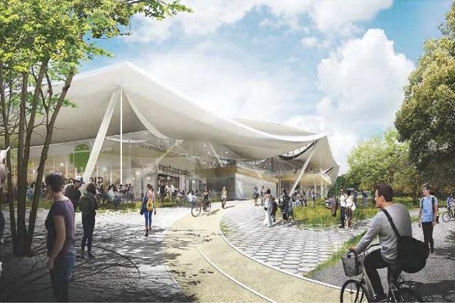 Οι πρώτες φωτογραφίες: Έτσι θα είναι το νέο «παλάτι» της Google