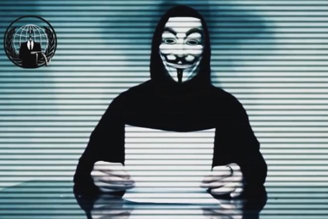 Οι Anonymous έκαναν πράξη τις απειλές κατά του Τραμπ