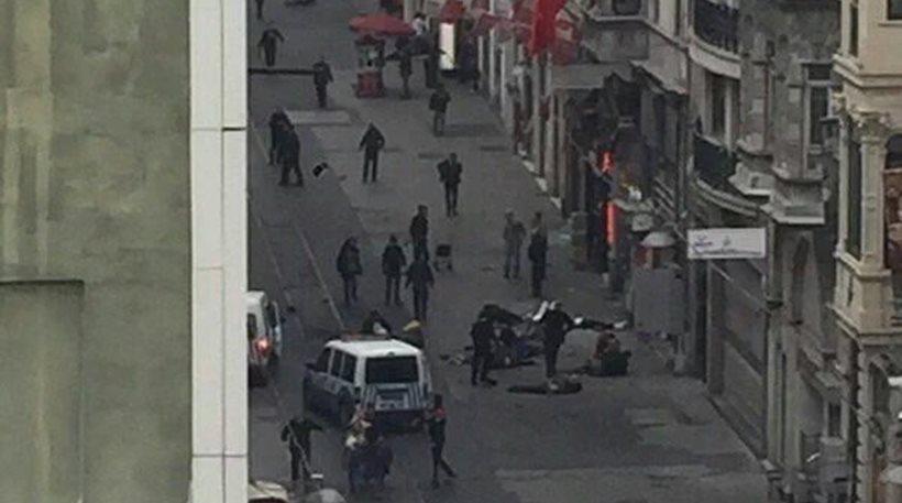 Νέα έκρηξη στον πιο πολυσύχναστο δρόμο της Κωνσταντινούπολης