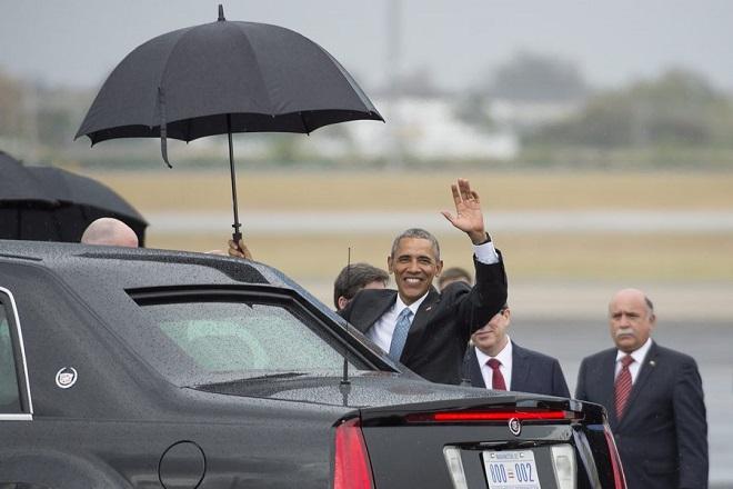 Ιστορική επίσκεψη Ομπάμα στην Κούβα