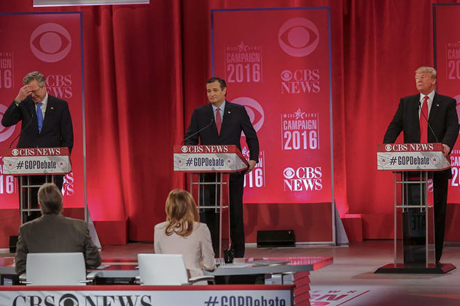 Συμμαχία Μπους – Κρουζ κατά του Ντόναλντ Τραμπ