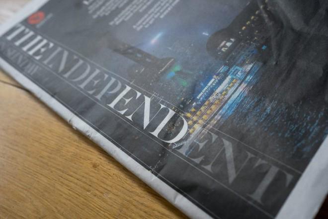 Τελευταία μέρα που η εφημερίδα Indepedent τυπώνεται σε χαρτί