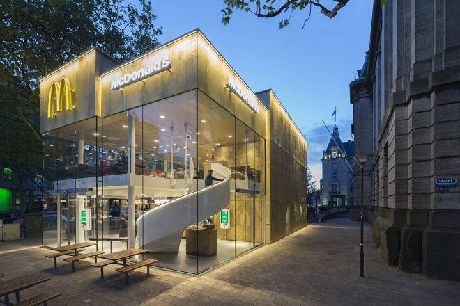 Το πιο κομψό McDonald's εστιατόριο στον κόσμο