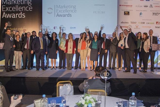 Ποιοι διακρίθηκαν στην πέμπτη απονομή των Marketing Excellence Awards