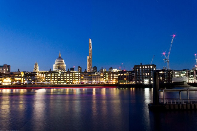 Ένας ξύλινος ουρανοξύστης στην «καρδιά» του Λονδίνου