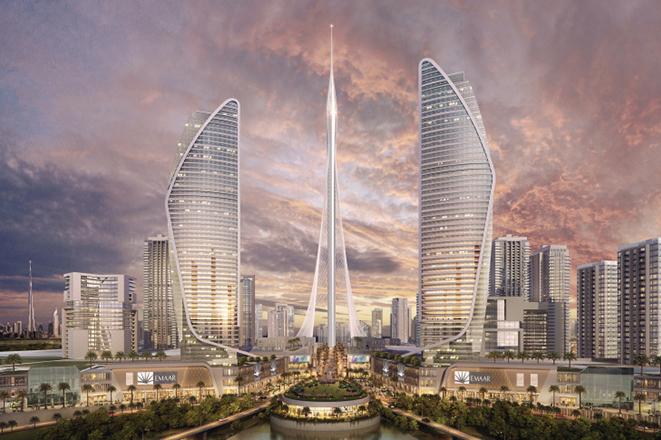 Ο «Πύργος» του Καλατράβα που θα φτάσει στην κορυφή του κόσμου