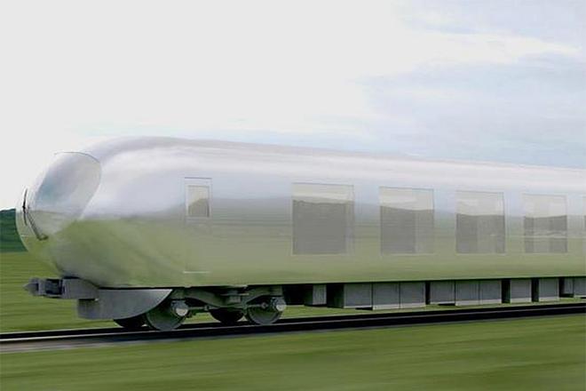 Ένα νέο «αόρατο τρένο» στην Ιαπωνία