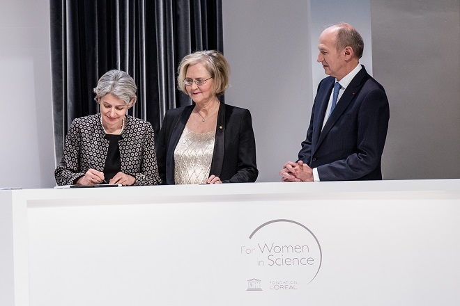 L'Oréal-UNESCO: Διακήρυξη για την προαγωγή του ρόλου των γυναικών στην επιστήμη