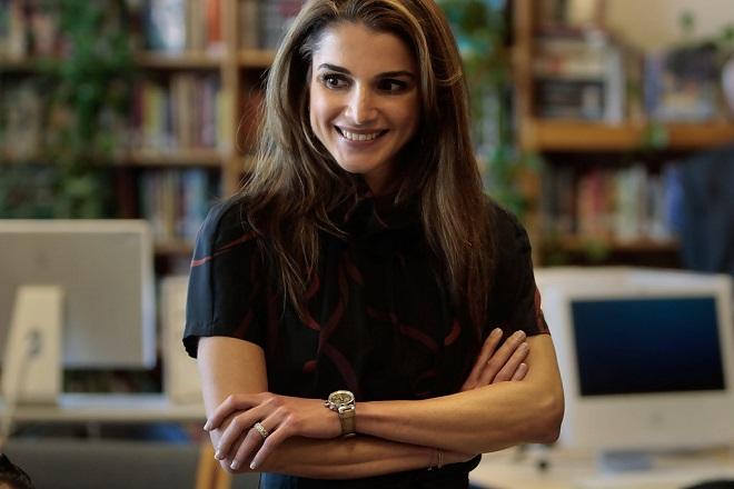 Στη Μυτιλήνη η βασιλίσσα Ράνια της Ιορδανίας