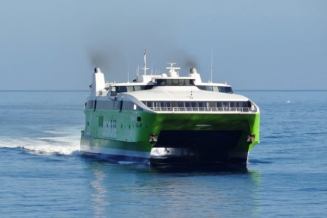 Εγκαινιάζεται το απόγευμα στο λιμάνι της Ραφήνας το καταμαράν «Hellenic Highspeed»