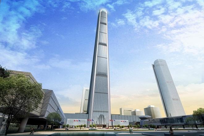 «Ξεκόλλησε» η κατασκευή του πέμπτου υψηλότερου κτηρίου στον κόσμο