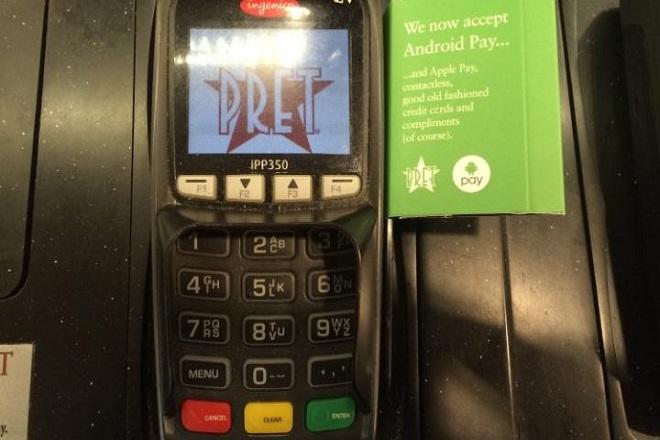 Μεγάλη αλυσίδα fast food δέχεται πληρωμές μέσω Android Pay!