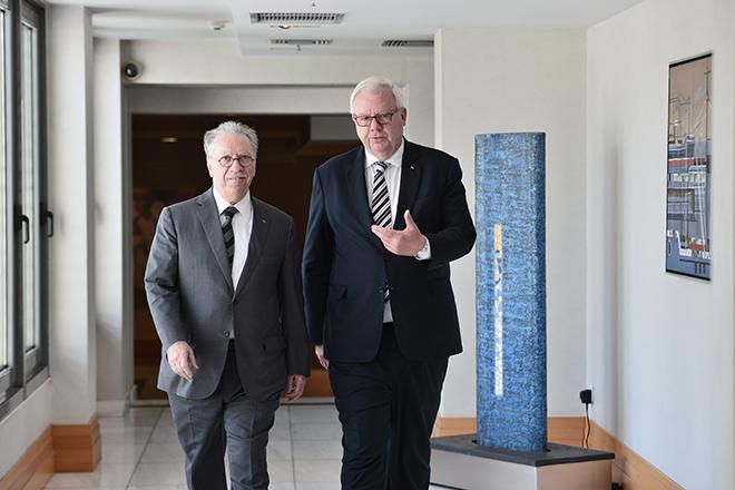 Συνάντηση του Μιχάλη Σάλλα με τον αντιπρόεδρο της ΚΟ του CDU