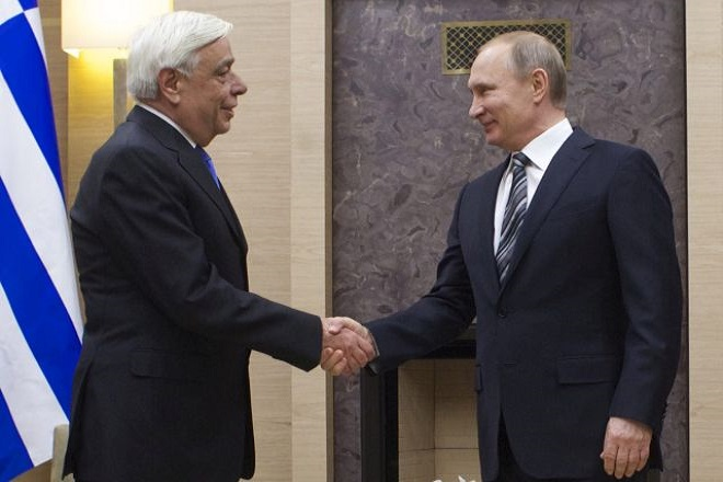 Tον Πρόεδρο της Ρωσίας θα υποδεχθεί στο Άγιον Όρος ο Προκόπης Παυλόπουλος