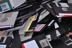 Floppy disk, as the data bearer, now belongs to the history of computing. (CTK via AP Images)