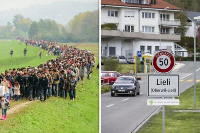 Ελβετικό χωριό προτίμησε να πληρώσει 260.000 ευρώ για να μην πάρει ούτε έναν πρόσφυγα