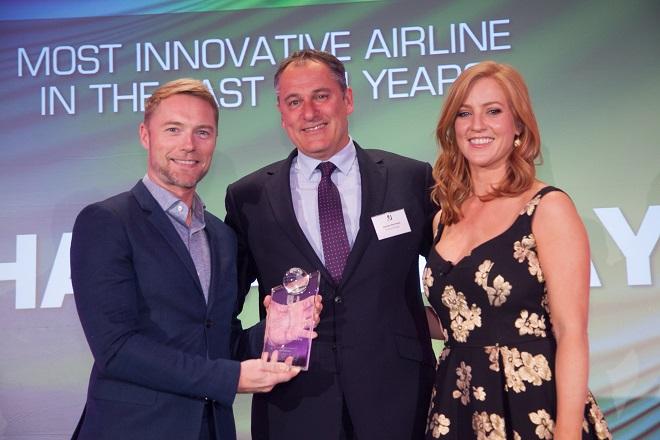 Στην Etihad Airways ο τίτλος του «πιο καινοτόμου αερομεταφορέα των τελευταίων δέκα ετών»