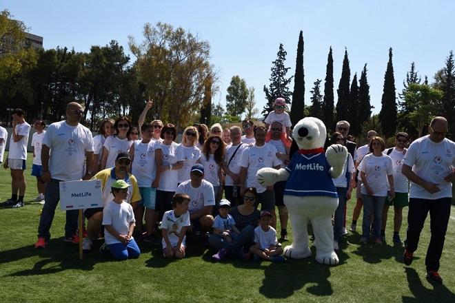 H MetLife στο πλευρό των Special Olympics Hellas
